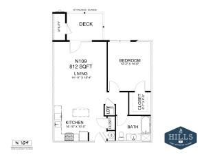 1.1 Marketing Apartments Floor 1-Layout