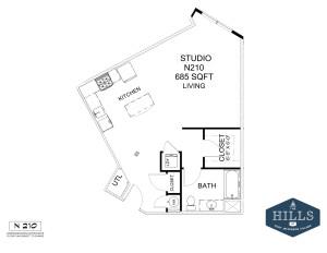 1.1 Marketing Apartments Floor 2-Layout