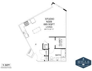 1.1 Marketing Apartments Floor 3-Layout